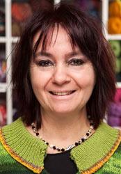 Karin Reichl, Handarbeiten, Filzen im Team des Düsseldorfer Bastelladens